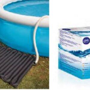 Riscaldatore solare per piscine autoportanti 130×80.