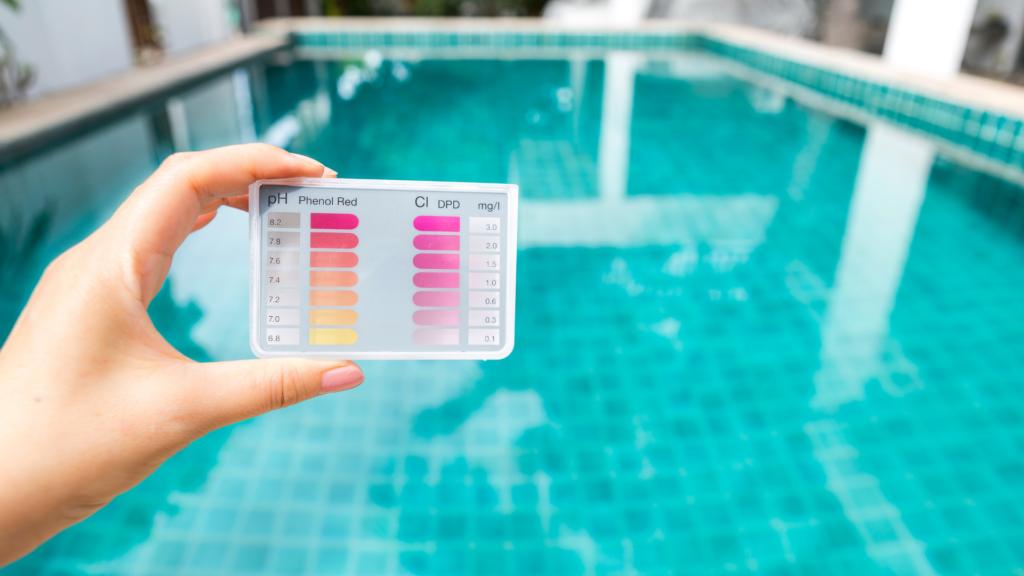 pH ideale piscina